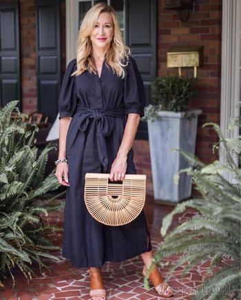 Летние платья для женщин 40-50 лет: 17 волшебных примеров для стильного образа