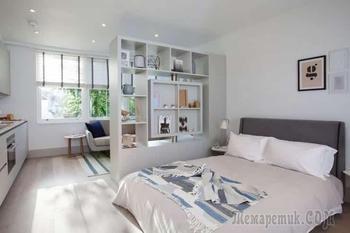 Дизайн квартиры-студии: 30 вариантов оформления