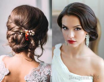 Свадебные прически на средние волосы: нежные идеи для Вашего дня