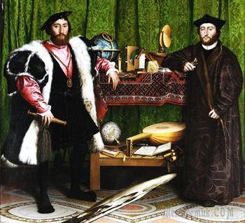 Шедевры мировой живописи... Оптические иллюзии