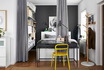 Стильные идеи обустройства однокомнатной квартиры