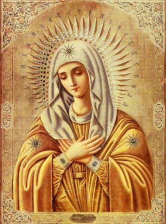 """""""Умиление"""" - икона Божией Матери, молитва, значение"""