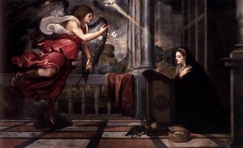 Благовещение в картинах и иконах разных художников и эпох