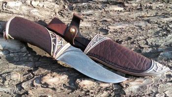 Нож в стиле Steampen