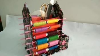 Удобный органайзер для шитья