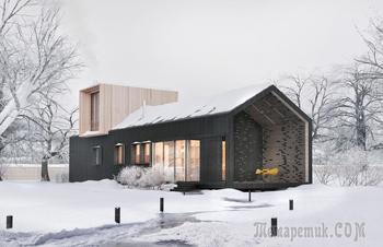 Модульный дом от белорусского бюро ZROBYM architects
