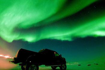 Северное сияние: фотопроект