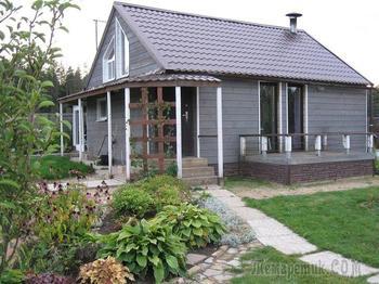 Дачная переделка: превращение двух бытовок в уютный дом