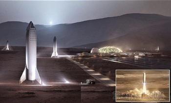 Илон Маск откроет базу на Марсе к 2028 году