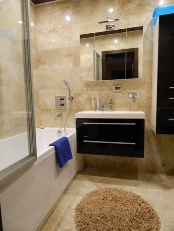 Ванная комната: строго и эффектно