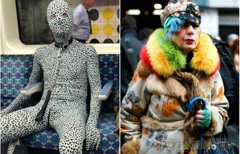 Люди, которые следуют за модой, но сохраняют свой собственный неповторимый стиль