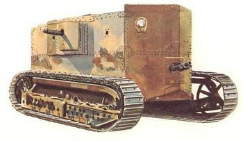 Экспериментальный танк Holt Gas-Electric Tank (США)
