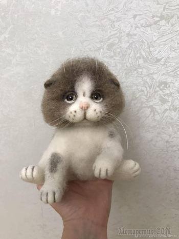 Котенок Листик