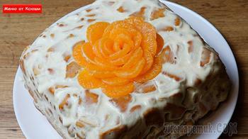 Молочный торт за 10 минут из 3 ингредиентов