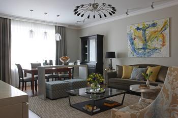 Квартира в центре Москвы на Тверской, 140 м²