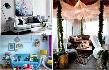 19 безукоризненно-уютных гостиных, в которых можно укрыться от мирской суеты