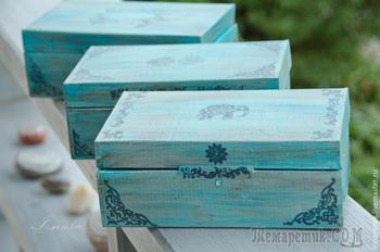 Простой способ сделать картонную коробку привлекательной
