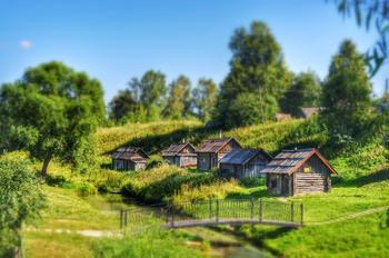 Село Вятское и две усадьбы - Воронино и Карабиха