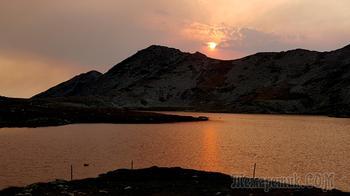Пирин 2021 7. День пятый - от хижины Безбог через озеро Попово до озера Тевното