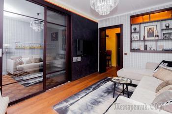 Квартира в ретро-стиле в центре Москвы
