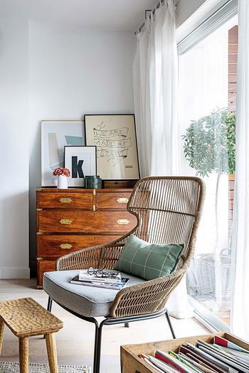 Уютная классика с бирюзовыми акцентами в интерьере квартиры в Мадриде