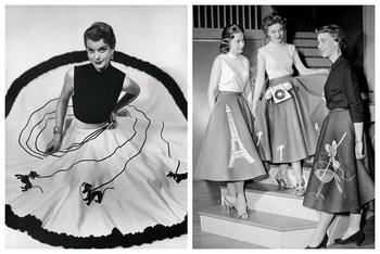 Юбка-пудель: удивительная модель из 50-х