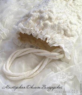 Создаем свадебную муфточку «герда» с эффектом каракуля