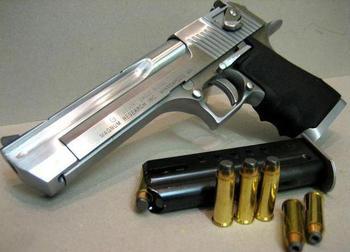 Крупнокалиберные пистолеты: обзор, характеристики, преимущества