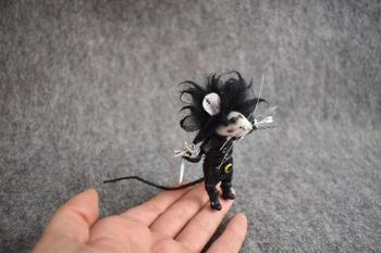 Войлочные мышки от Рейчел Остин