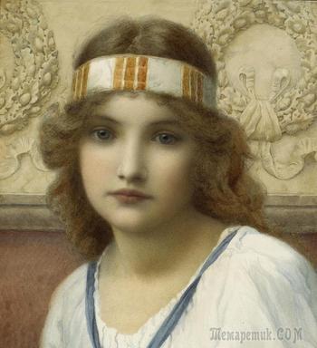 """""""Вчера не схоже с завтра никогда...""""прерафаэлит Генри Райленд (1856-1924)"""