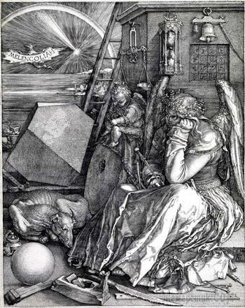 «Меланхолия I» - самая таинственная гравюра Альбрехта Дюрера, в которой зашифрованы тайные послания