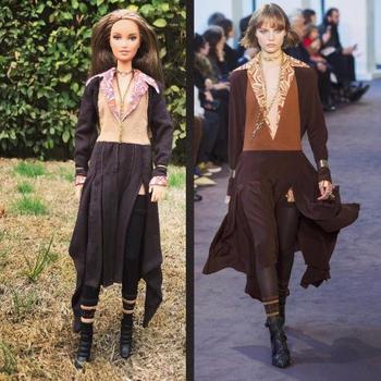 Дизайнерские наряды для Барби
