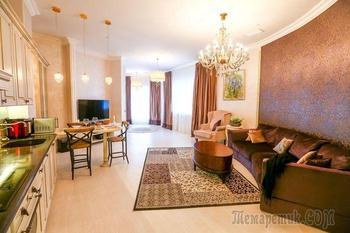 Московская квартира 100 м² на 46 этаже