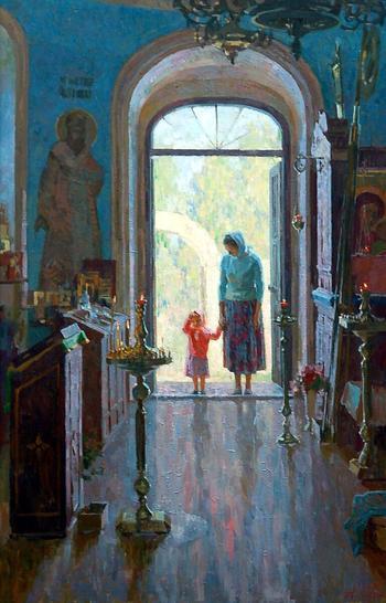 Любовь к богослужению — счастье для жены священника