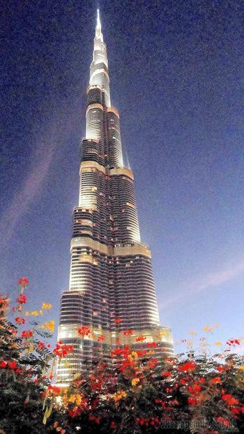 Дубай - современная сказка Шахерезады 3. Бурдж-Халифа - самое, самое - здание в мире / на данный момент /