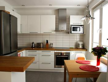 Скандинавская кухня 10,5 м2