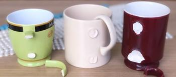 Применение сломанных кружек и чашек