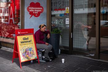 Ад с эмигрантами в Швеции