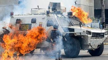 Бронированные машины: сначала поле боя, а теперь и полиция
