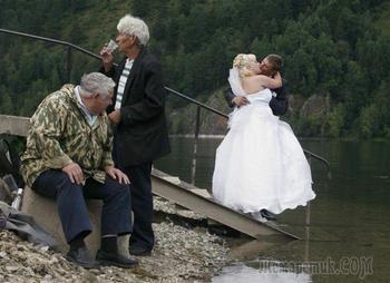 20 странных свадебных фотографий, глядя на которые вам тут же расхочется жениться
