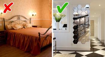 12 распространенных ошибок в интерьерах маленьких квартир