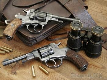 Легендарное оружие: револьвер системы Наган