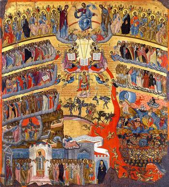 Икона Страшного суда: описание