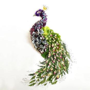 Картины из растений от Бриджит Бет Коллинз