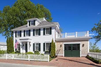Классический американский дом в штате Массачусетс