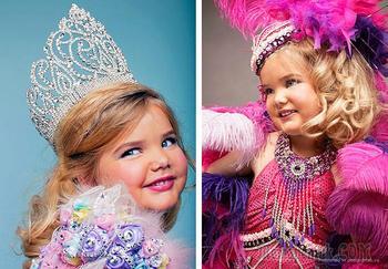 10 шокирующих моментов на детских конкурсах красоты в США  (видео)