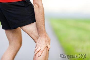 Судороги в икроножных мышцах — причины и лечение