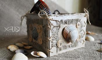 Бохо коробочка в морском стиле