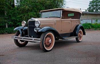 Кляксон, дистрибьютор и пневматическое приспособление: тест-драйв ГАЗ-А 1935 года выпуска