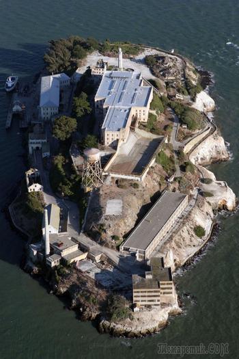 Тюрьма Алькатрас и ее знаменитый побег